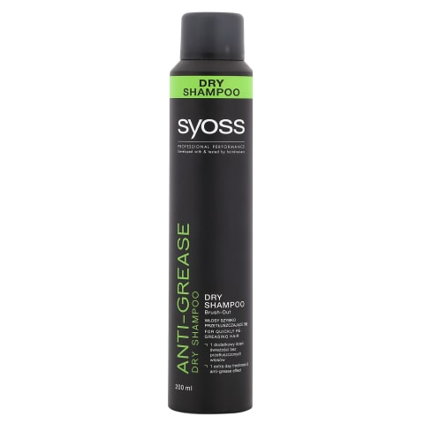 Sausais šampūns Syoss anti-grease 200ml