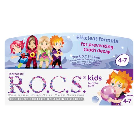 Hambapasta R.O.C.S. Kids närimiskumm 45g