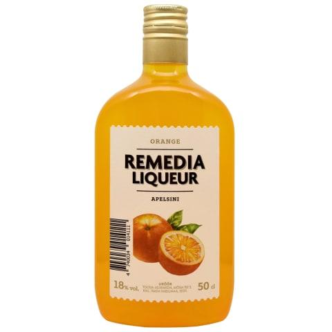 Liköör apelsini Remedia 18%vol 0,5l