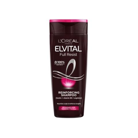 Plaukų šampūnas ELVITAL ARGININE, 250 ml