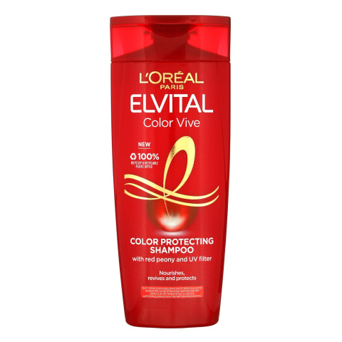 Šampūns Elvital color vive uv filtru