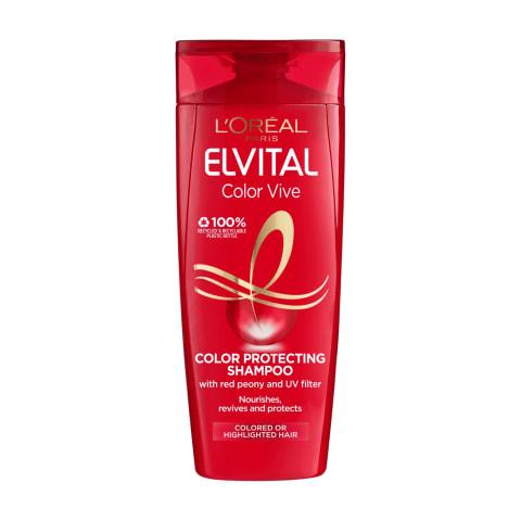 Daž.plauk. šampūnas ELVITAL COLOR-VIVE, 400ml