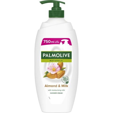 Dušo želė PALMOLIVE ALMOND, 750 ml