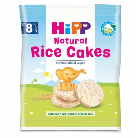Krekeri Hipp rīsu no 8 mēneši  BIO 40g