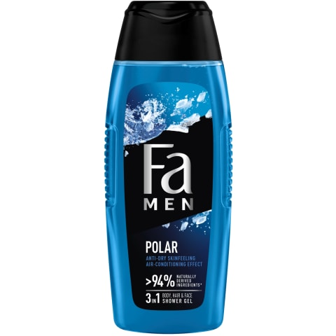 Dušas želeja Fa men xtreme polar 400ml