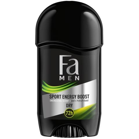 Zīmuļv. dezodorants Fa men power boost 50ml