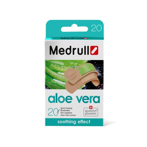 Plāksteri Medrull Aloe Vera 20 gab.