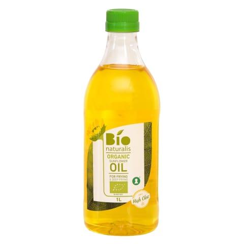 Saulespuķu eļļa Bionaturalis nerafin. BIO 1L