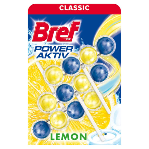Tual.bl. Bref Power Aktiv Lemon 3x50g