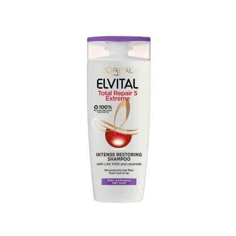 Šampūns Elvital total repair extreme 250ml