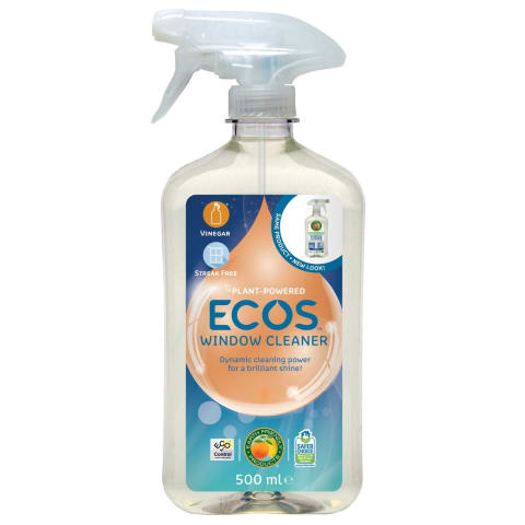 Tīrīšanas līdzeklis logiem Ecos 500ml
