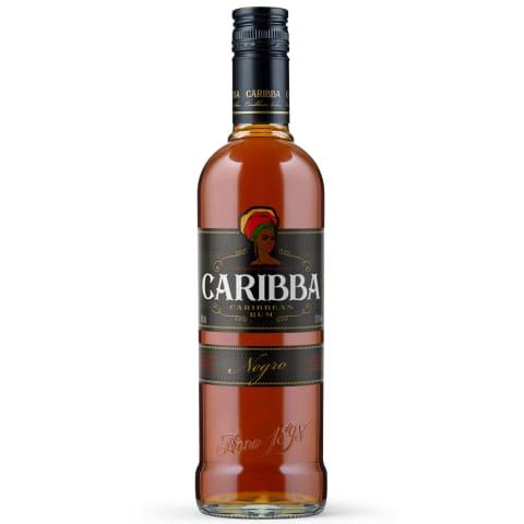 Rums Caribba Negro 37,5% 0,7l