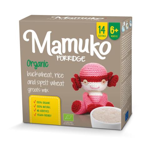 Ekol. kruopų mišinys MAMUKO, 6 mėn., 240g
