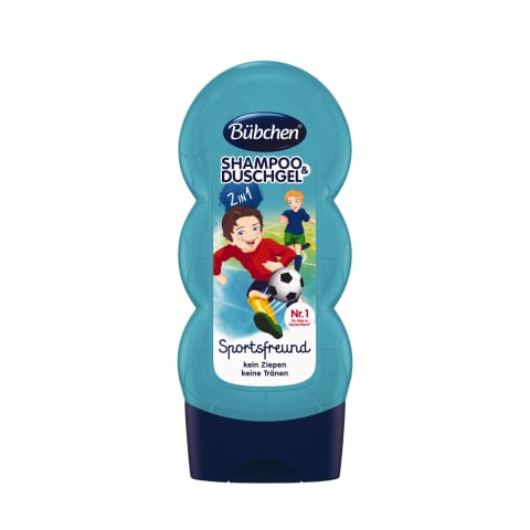 Šampūns un dušas putas Bubchen sports 230ml