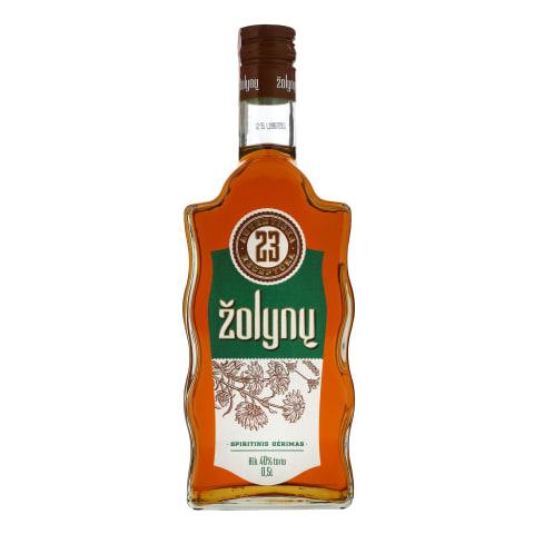 Spiritinis ŽOLYNŲ gėrimas 23, 40 %, 0,5 l