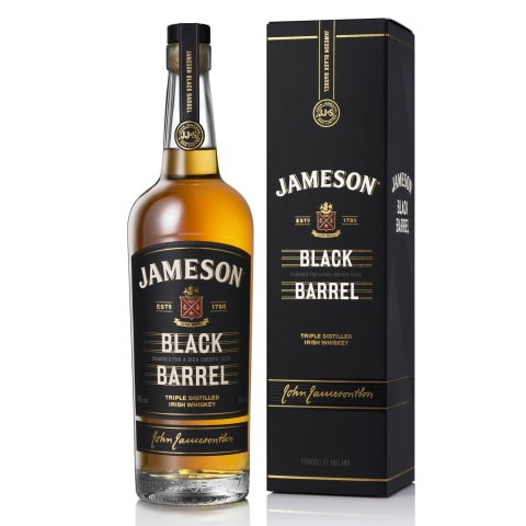 Viskijs Jameson Black Barrel 40% 0,7l