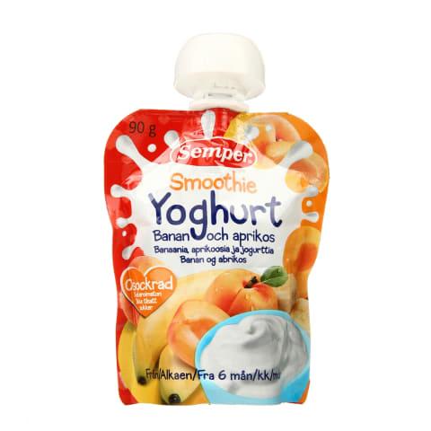 Biezsula Semper jogurts,ban.,aprik. 6m. 90g