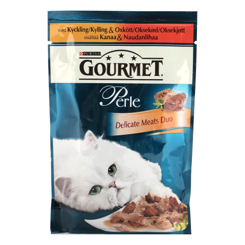 Kons. kaķiem Gourmet Perle liellops/vista 85g
