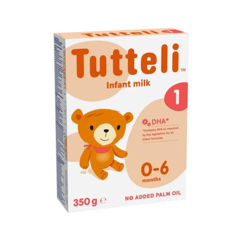 Piena maisījums Tutteli 1 no dzimšanas 350g