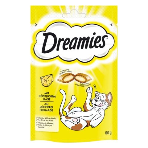 Skanėstas katėms su sūriu DREAMIES, 60 g
