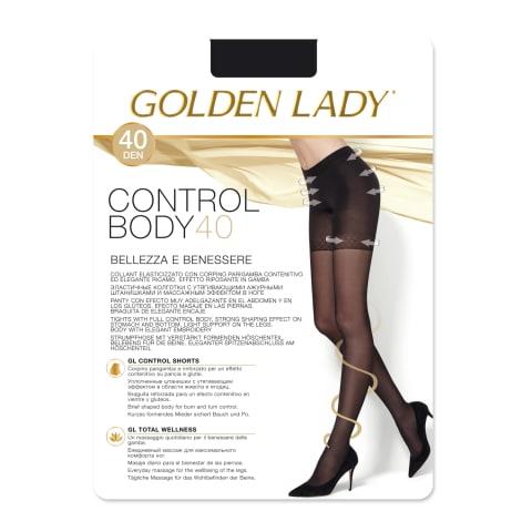 Siev zeķb GL Control Body 40den 2 nero