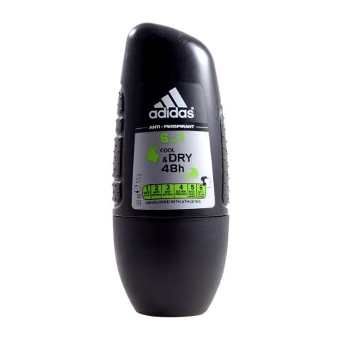 Antip. Adidas Cool&Dry 6in1,vīr.,rullv.,50ml