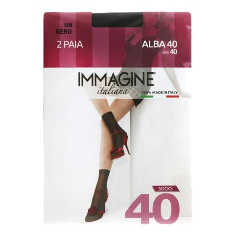 S zeķes Immagine alba 40d nero