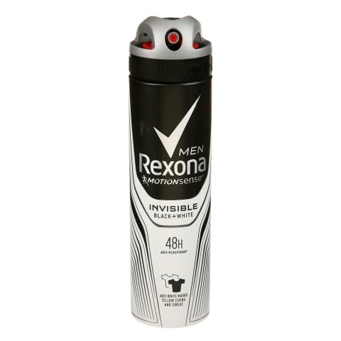 Vyr.puršk.dez. REXONA INV. BLACK&WHITE, 150ml