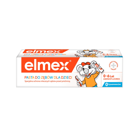 Dantų pasta ELMEX CHILDREN, 50ml