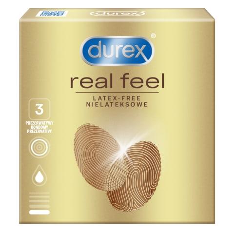 Prezervativi DUREX Real Feel 3 gab.
