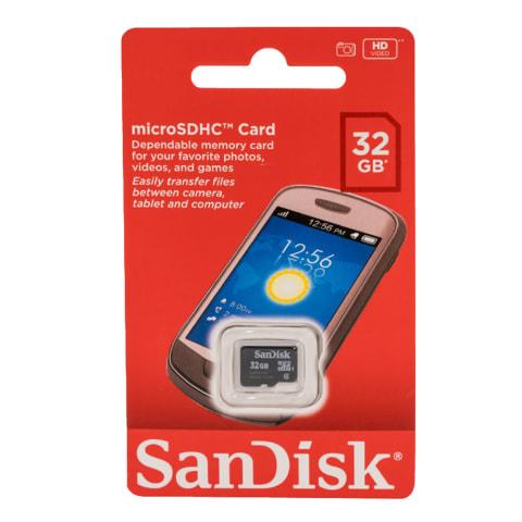 Mälukaart Sandisc microSDHC 32GB