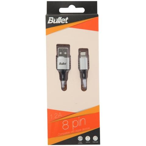 USB laidas BULLET EIGHT PIN