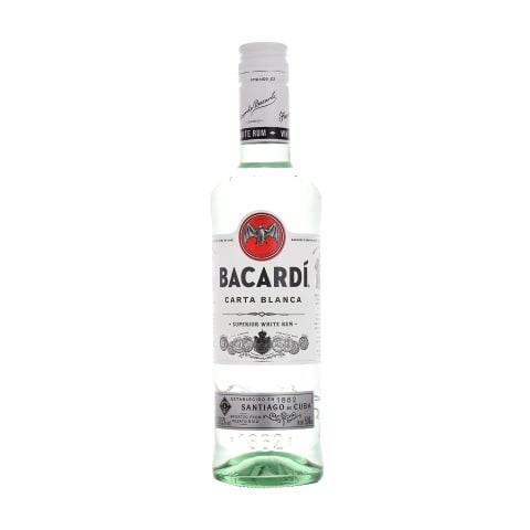 Rumm Bacardi Carta Blanca 37,5% 0,5L