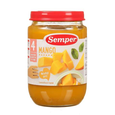 Biezenis Semper mango no 4mēn. 190g