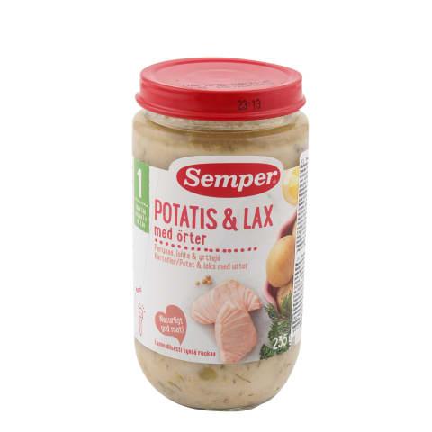 Bulvės laš.priesk.žol., SEMPER, 12 mėn., 235g