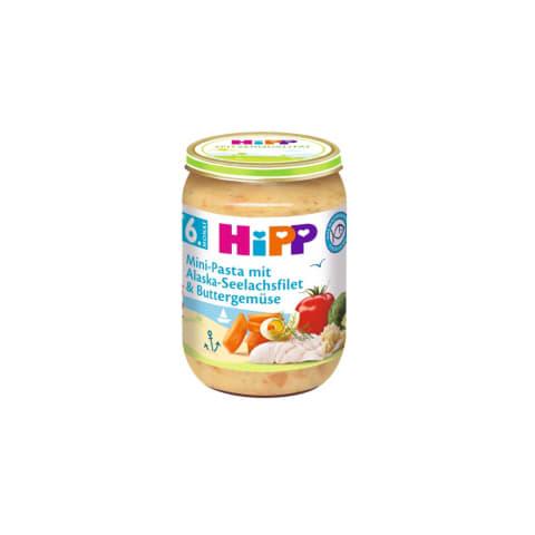 Zivs ar makaroniem,brokoļiem HIPP 190g