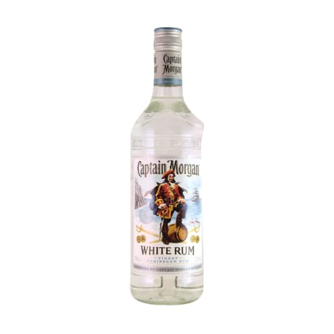 Romas CAPTAIN MORGAN WHITE, 37,5 %, 0,7 l