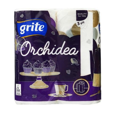 Papīra dvieļi Grite Orchidea  2 ruļļi