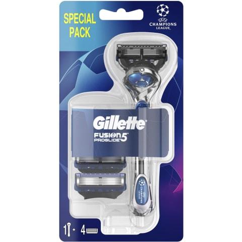 Sk.Vīr. Gillette Fusion5 ProGlide+4Galv