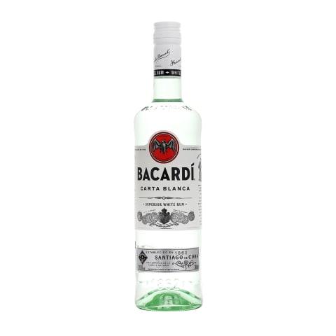 Rumm Bacardi Carta Blanca 37,5% 0,7L