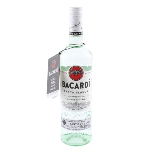 Rums Bacardi Carta Blanca 37,5% 0,7l