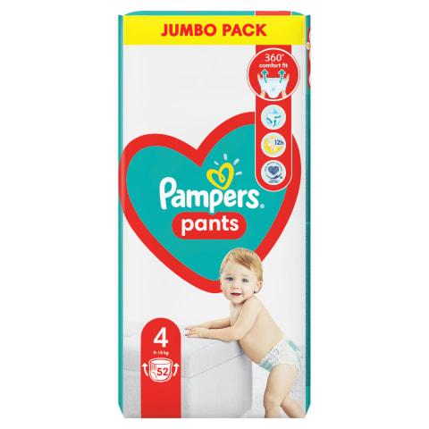 Püksmähkmed Pampers Jumbo S4 9-14kg 52tk