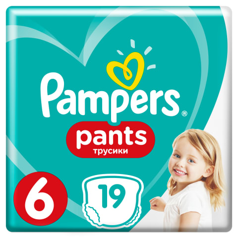 Sausk.-keln., PAMPERS CP 6,nuo 16kg, 19vnt.