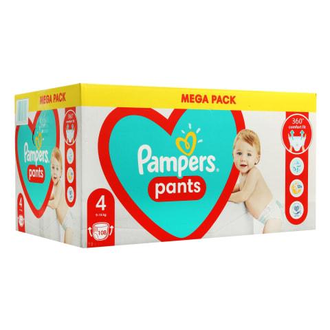Sausk. PAMPERS PANTS MEGA BOX, 4 dyd.,104vnt.