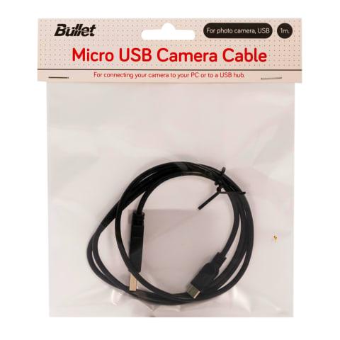 Fotoaparato laidas BULLET MICROUSB2, 1m