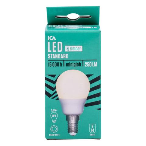 LED spuldze ICA Home mini Globe 3,5W E14