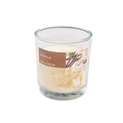 Arom.svece stikla svečt. Bolsius Vanilla