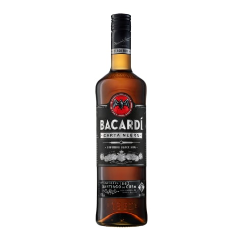 Rumm Bacardi Carta Negra 40% 0,5l