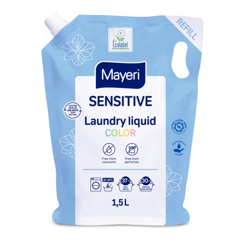 Pesugeel värv. Sensitive Mayer 1,5L
