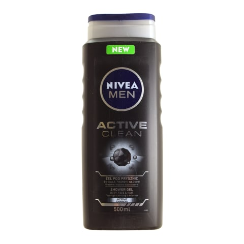 Dušas želeja Nive Men Active Clean,vīr. 500ml